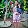 Музей Антонио Бланко. Чудесный птиц хорнбилл.