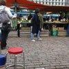 Рынок начинается (и яблоки за 5 евро кг)